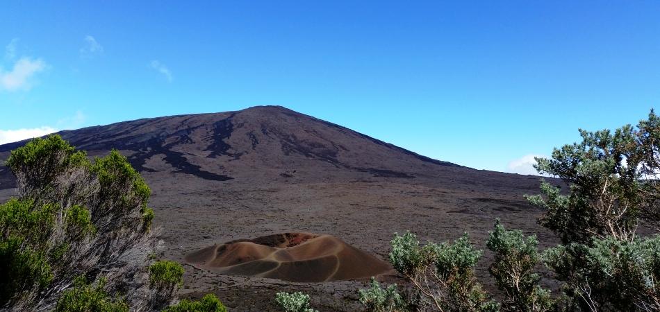 Piton de la Fournaise et cratère Formica Leo