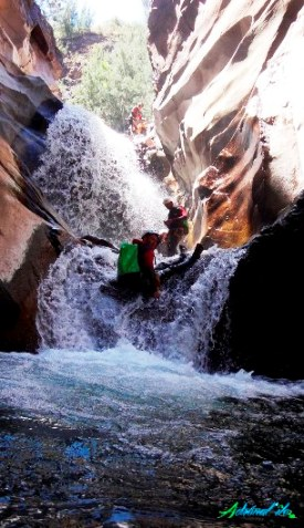 Canyon toboggan la Réunion