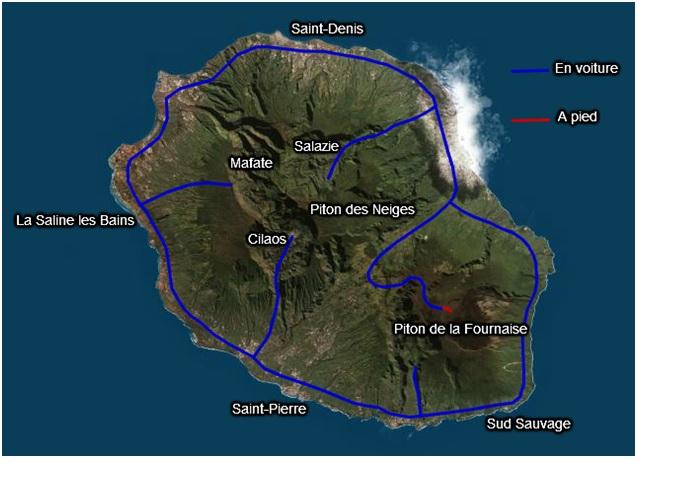 Entre lagon et volcan