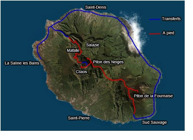 La Traversée de la Réunion