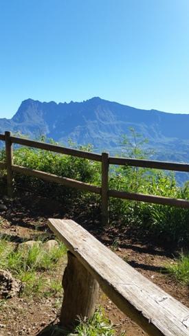Point de vue sur Cilaos