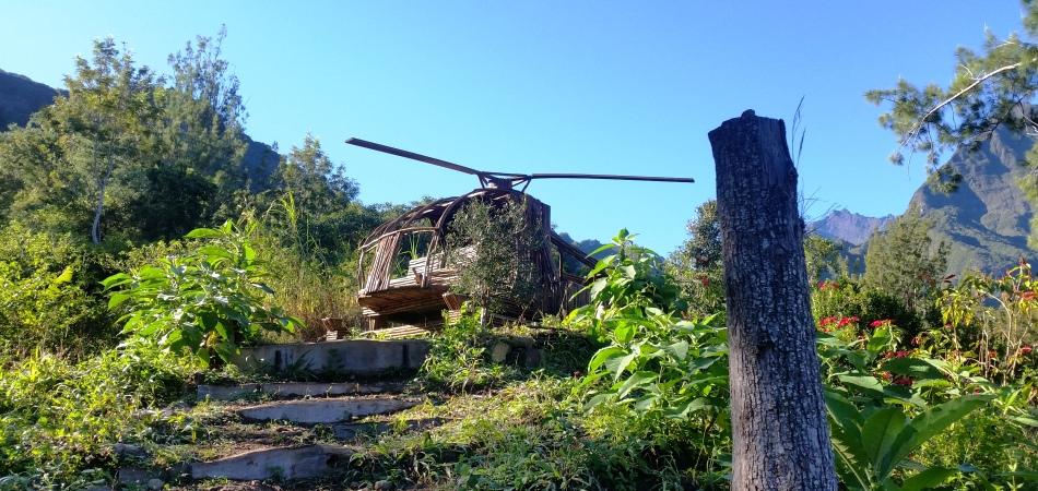 Hélicoptère Mafate